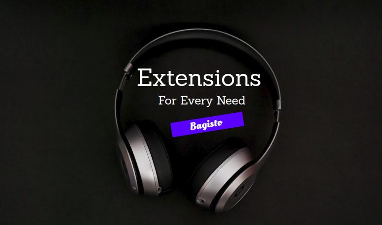 Bagisto-Extensions