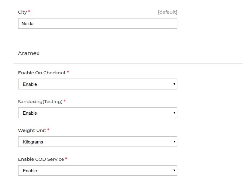 Laravel eCommerce Aramex Shipping Slider Image 3