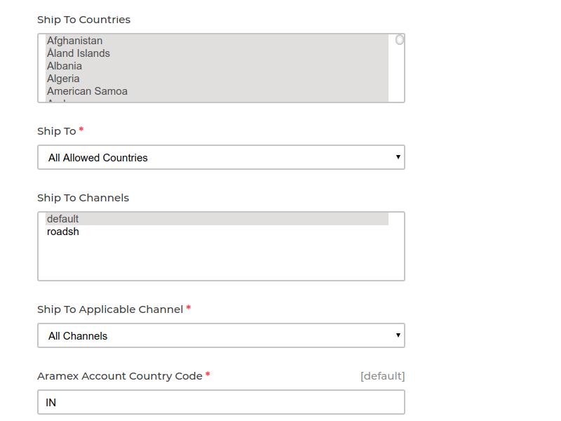 Laravel eCommerce Aramex Shipping Slider Image 4