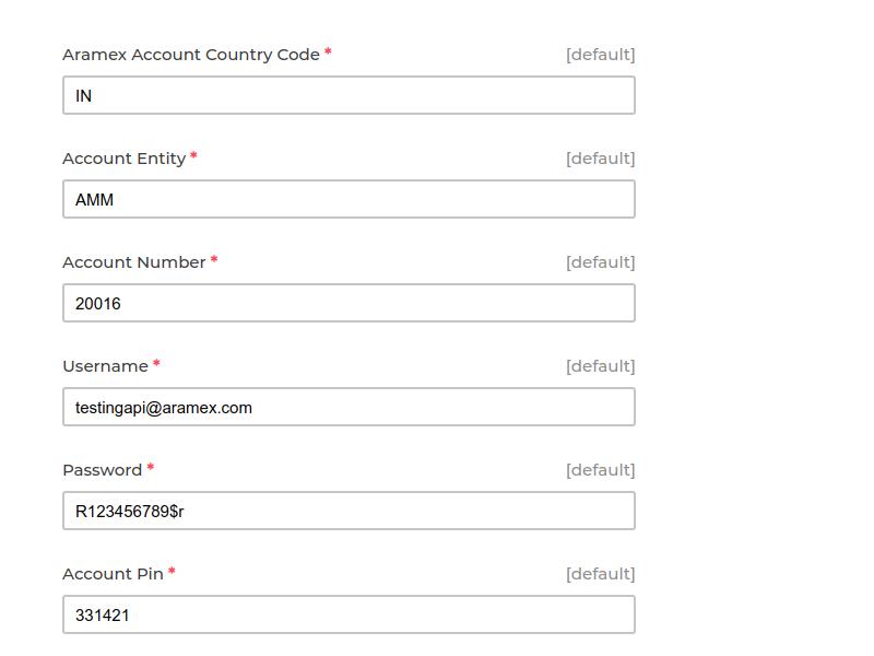 Laravel eCommerce Aramex Shipping Slider Image 5