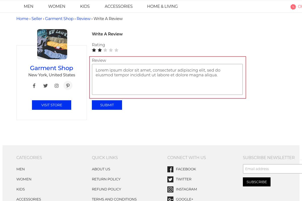 Laravel Multi Vendor Marketplace Extension Slider Image 4
