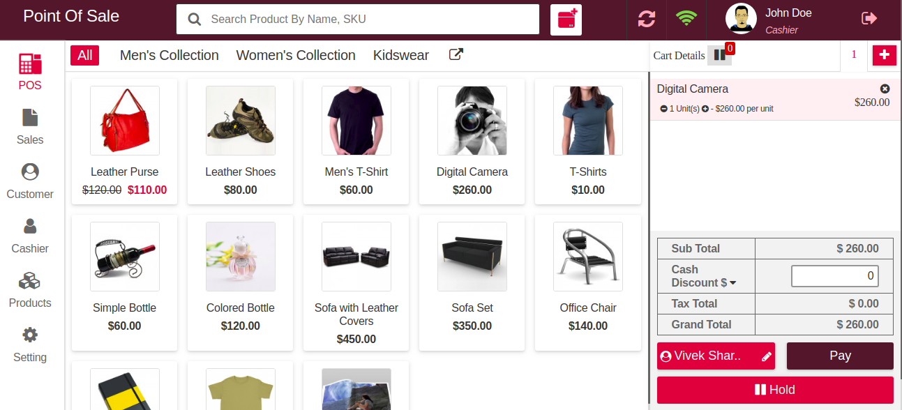 Laravel eCommerce Point Of Sale Slider Image 6