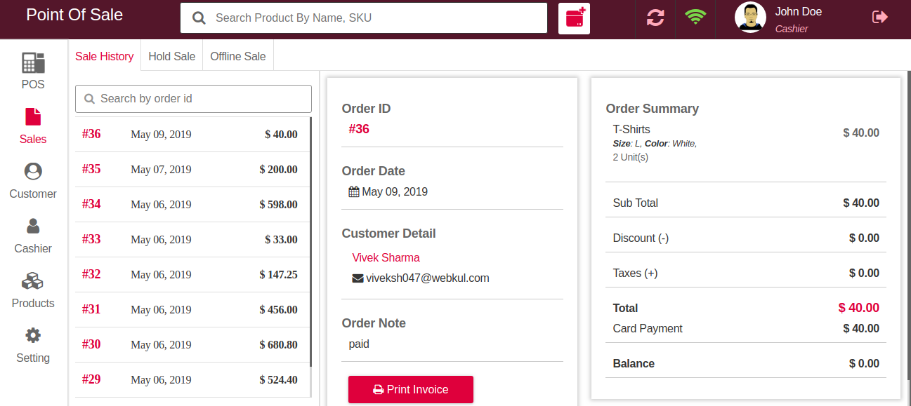 Laravel eCommerce Point Of Sale Slider Image 8