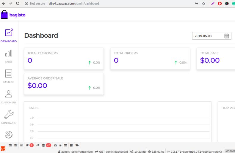 Laravel e-commerce Multi Company SAAS Module Slider Image 4