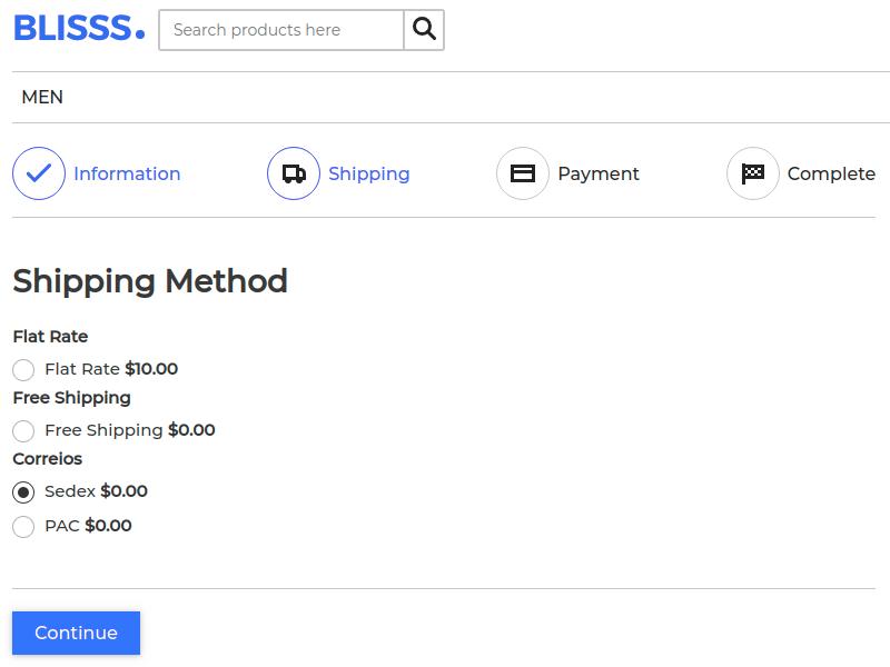 Laravel eCommerce Correios Shipping Slider Image 4