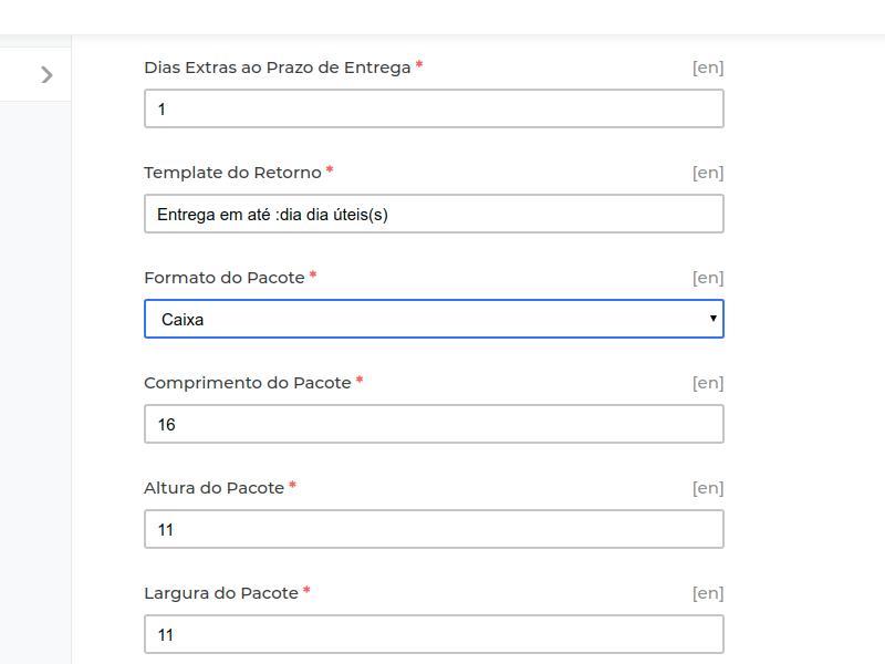 Laravel eCommerce Correios Shipping Slider Image 2
