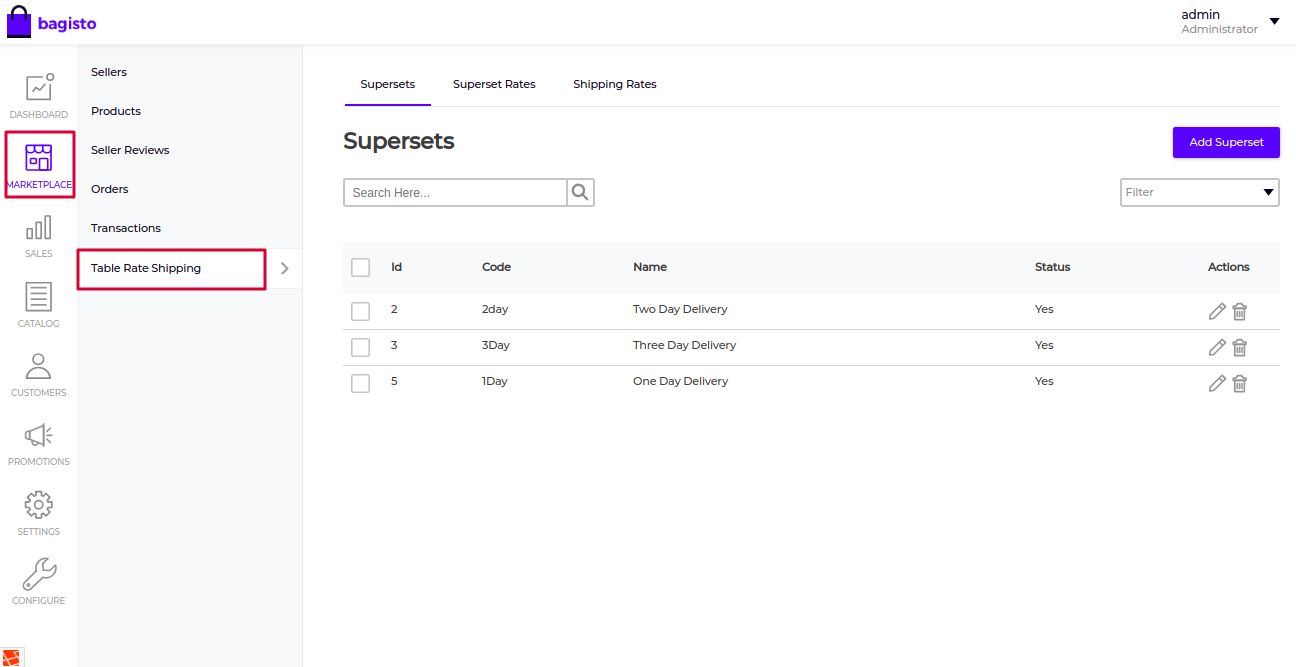 Laravel eCommerce Marketplace Table Rate Shipping Slider Image 3
