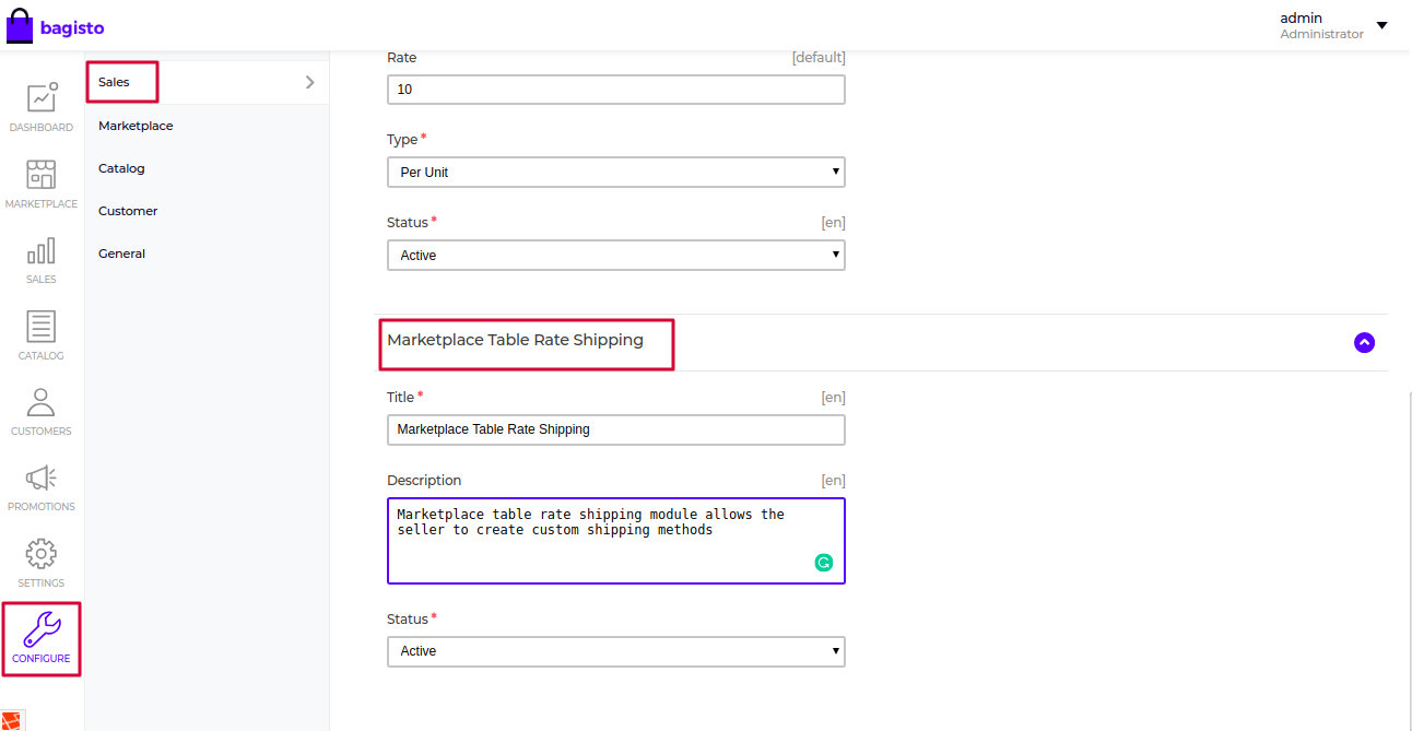 Laravel eCommerce Marketplace Table Rate Shipping Slider Image 1