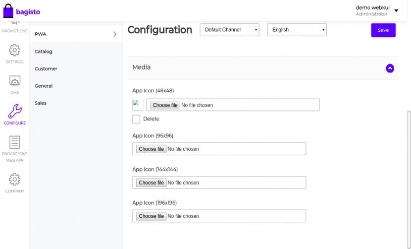 Laravel eCommerce Progressive Web Application Slider Image 2