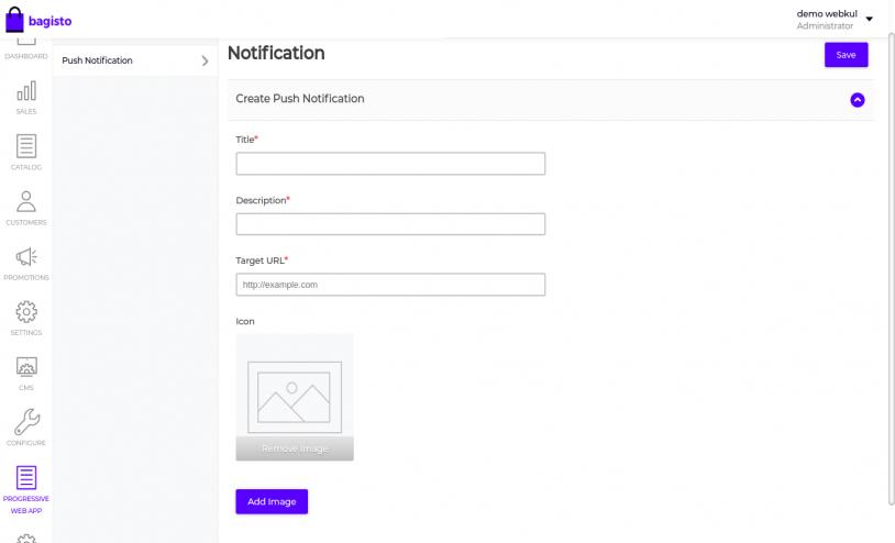 Laravel eCommerce Progressive Web Application Slider Image 4