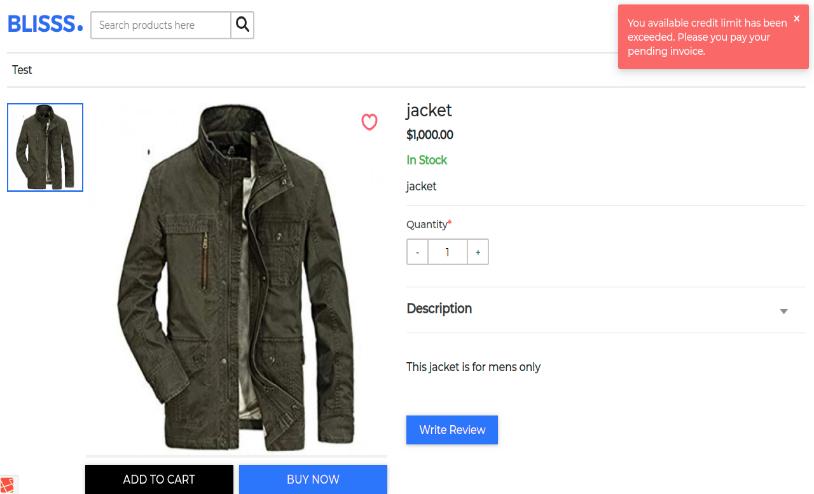 Laravel eCommerce Customer Credit Max Slider Image 3