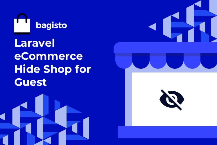 Laravel eCommerce Hide Shop for Guest Slider Image 0