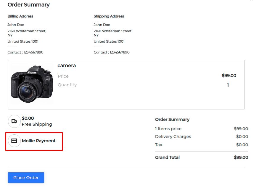 Laravel eCommerce Mollie Payment Gateway Slider Image 3
