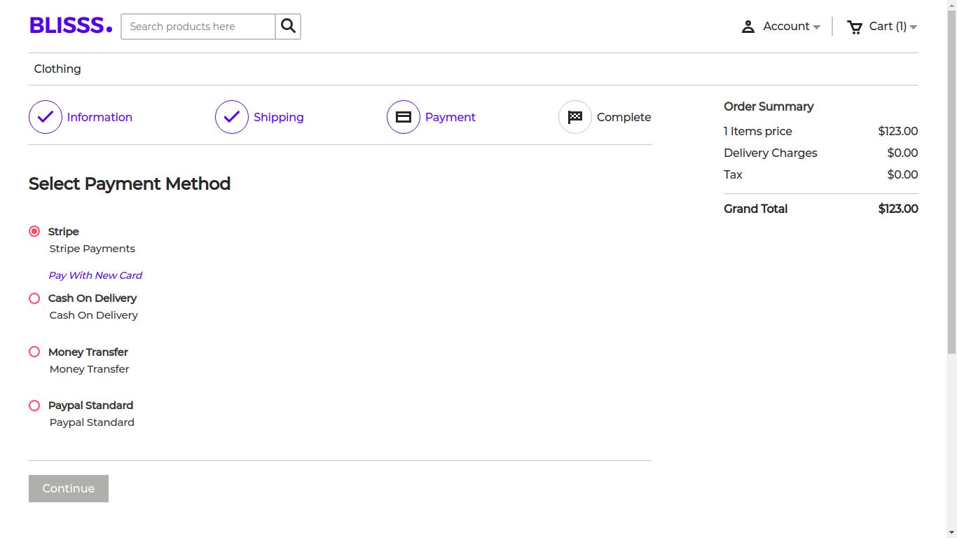 Laravel eCommerce Multi-Tenant Stripe Connect Slider Image 5