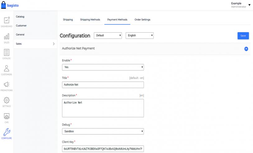 Laravel eCommerce Authorize.net Payment Gateway Slider Image 1