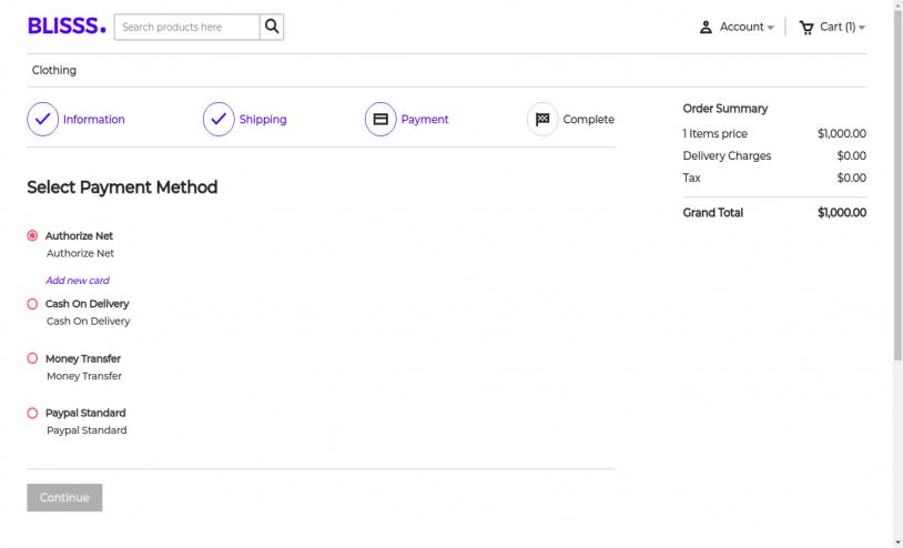 Laravel eCommerce Authorize.net Payment Gateway Slider Image 3