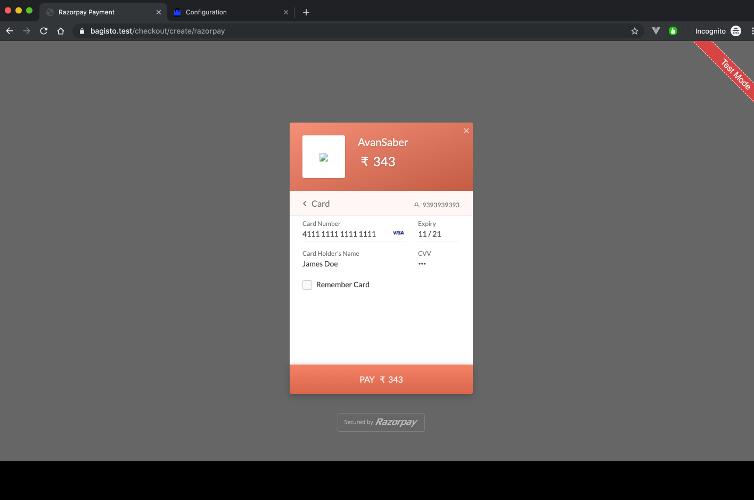 Laravel eCommerce RazorPay Payment Gateway Integration Slider Image 6