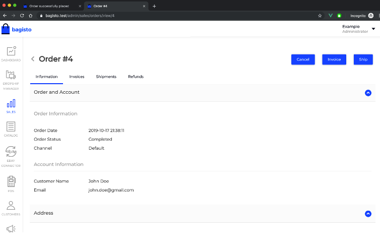 Laravel eCommerce RazorPay Payment Gateway Integration Slider Image 7