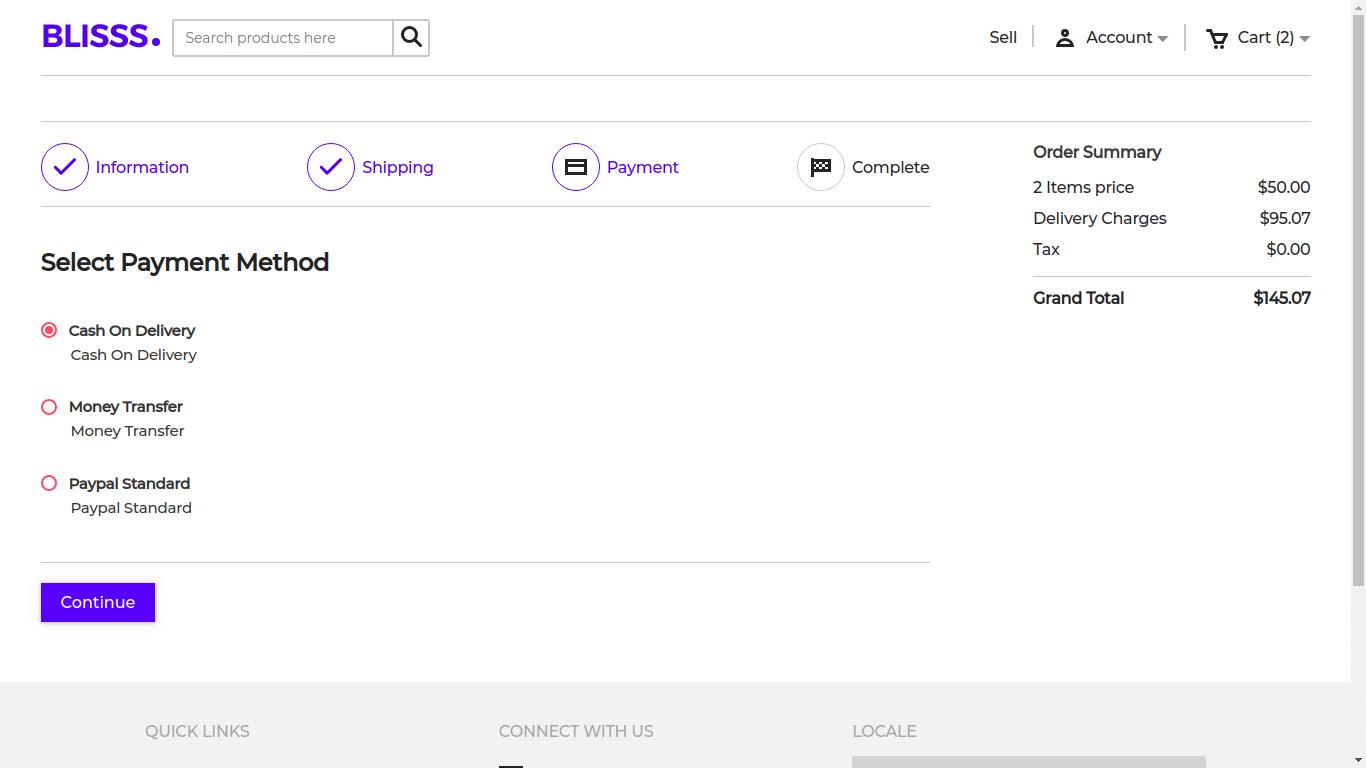 Laravel Marketplace Multi shipping Slider Image 4