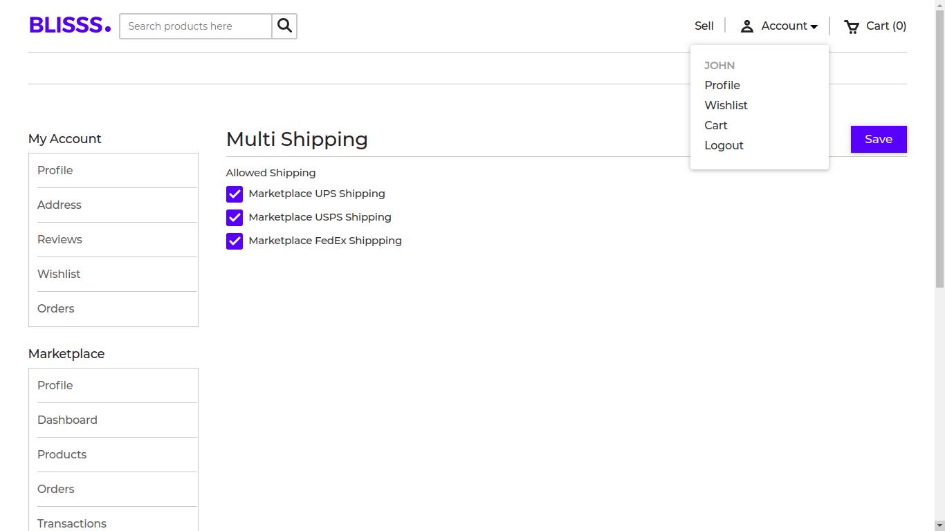 Laravel Marketplace Multi shipping Slider Image 7