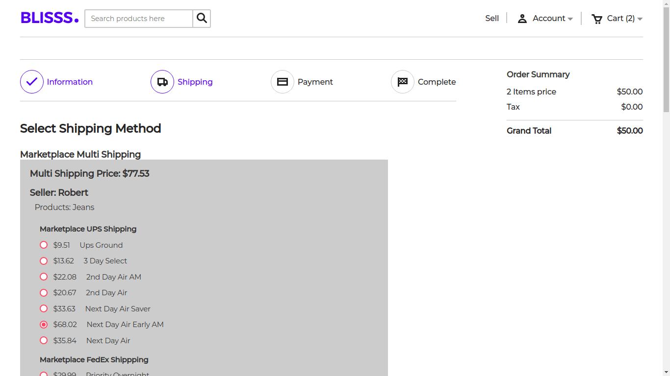 Laravel Marketplace Multi shipping Slider Image 2