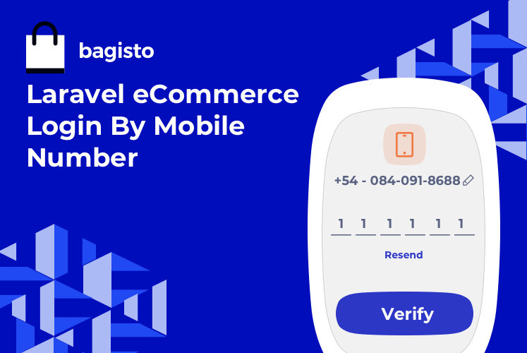 Laravel eCommerce Login By Mobile Number Slider Image 0