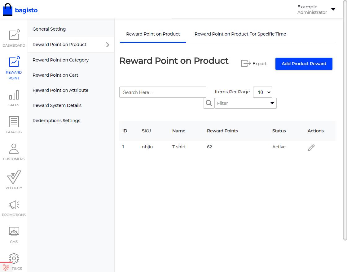 Laravel eCommerce Reward Points Slider Image 5