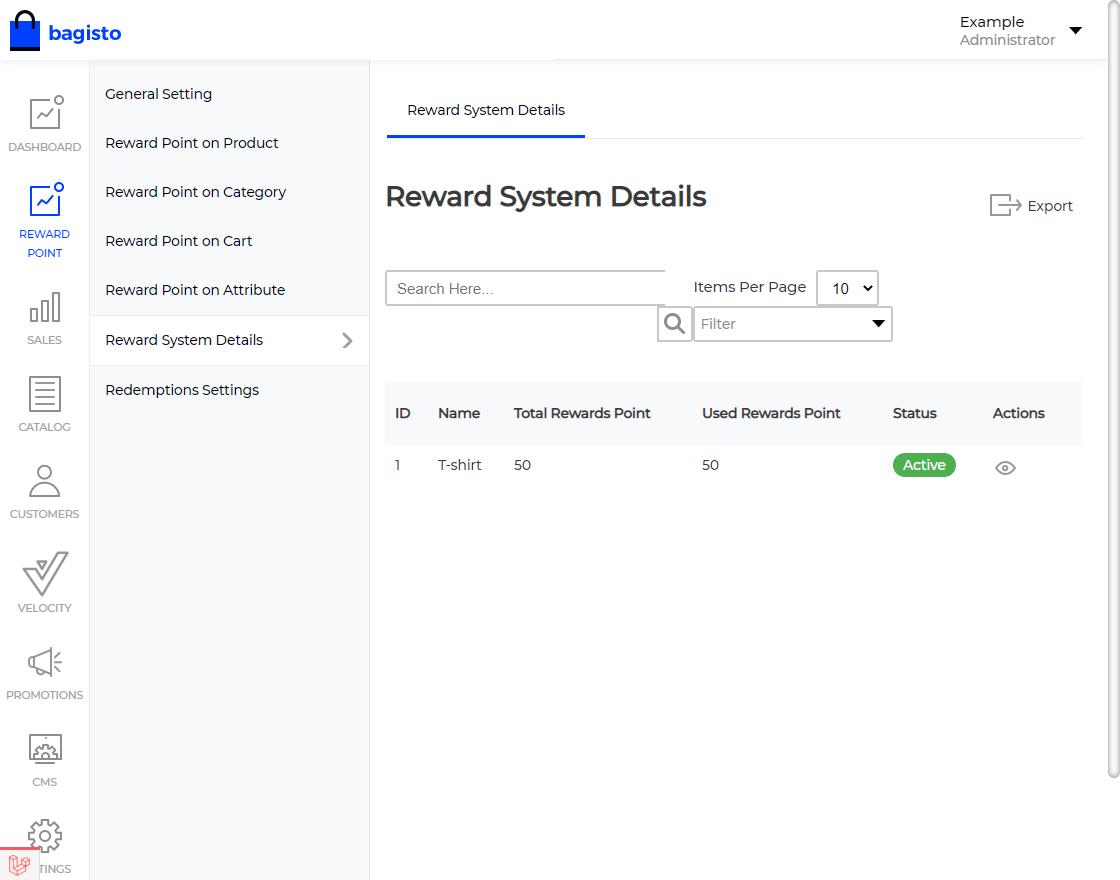 Laravel eCommerce Reward Points Slider Image 10