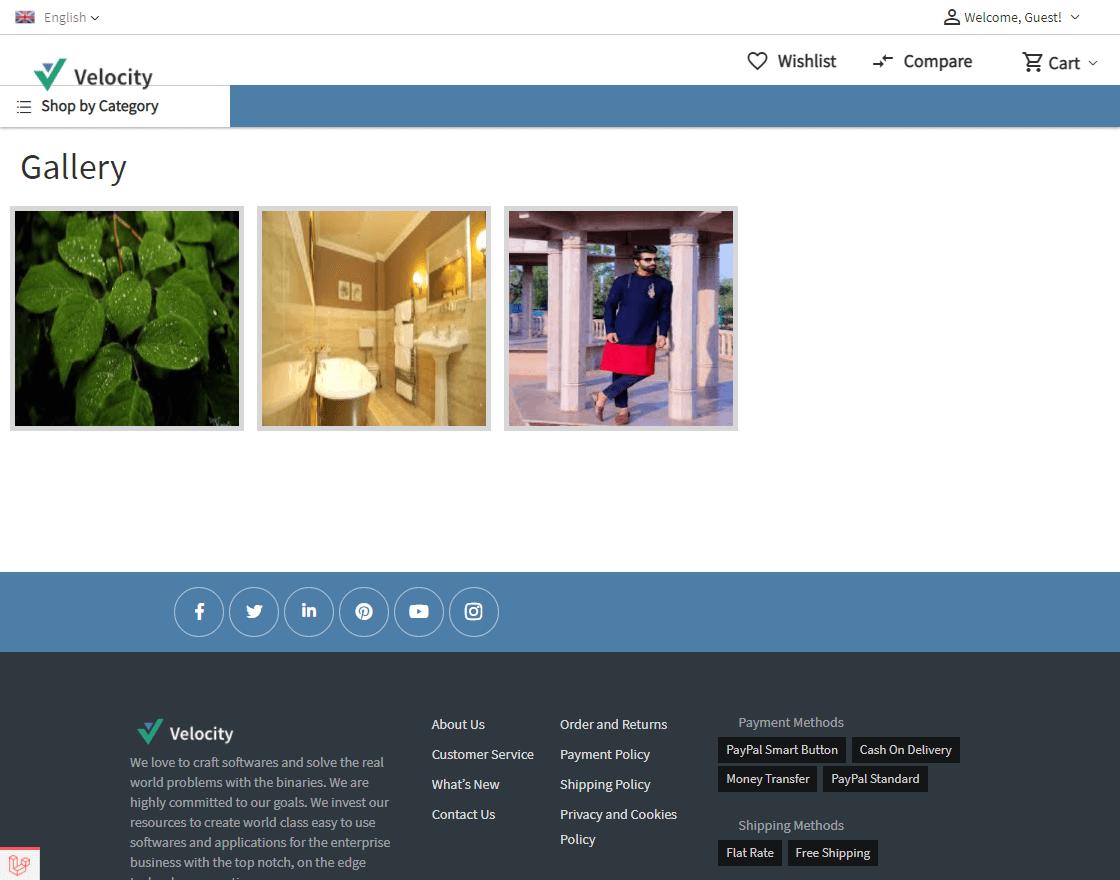 Laravel eCommerce Image Gallery Slider Image 3